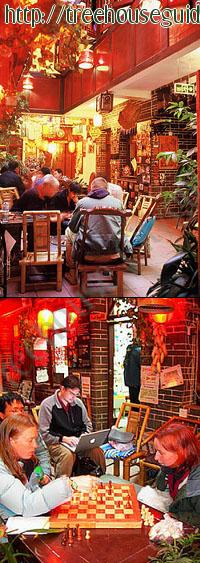 the lobby of chengdu mix hostel - Pictures/Photography