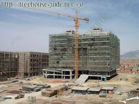 Zhaotong Teacher's College (new campus) is still under construction. - Pictures/Photography