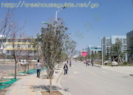Entrance to Zhaotong Teacher's College (new campus) - Pictures/Photography
